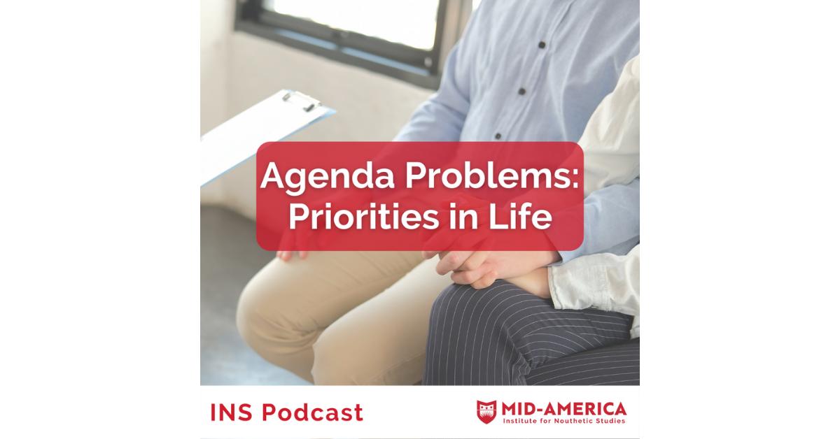 Agenda Problems: Priorities in Life
