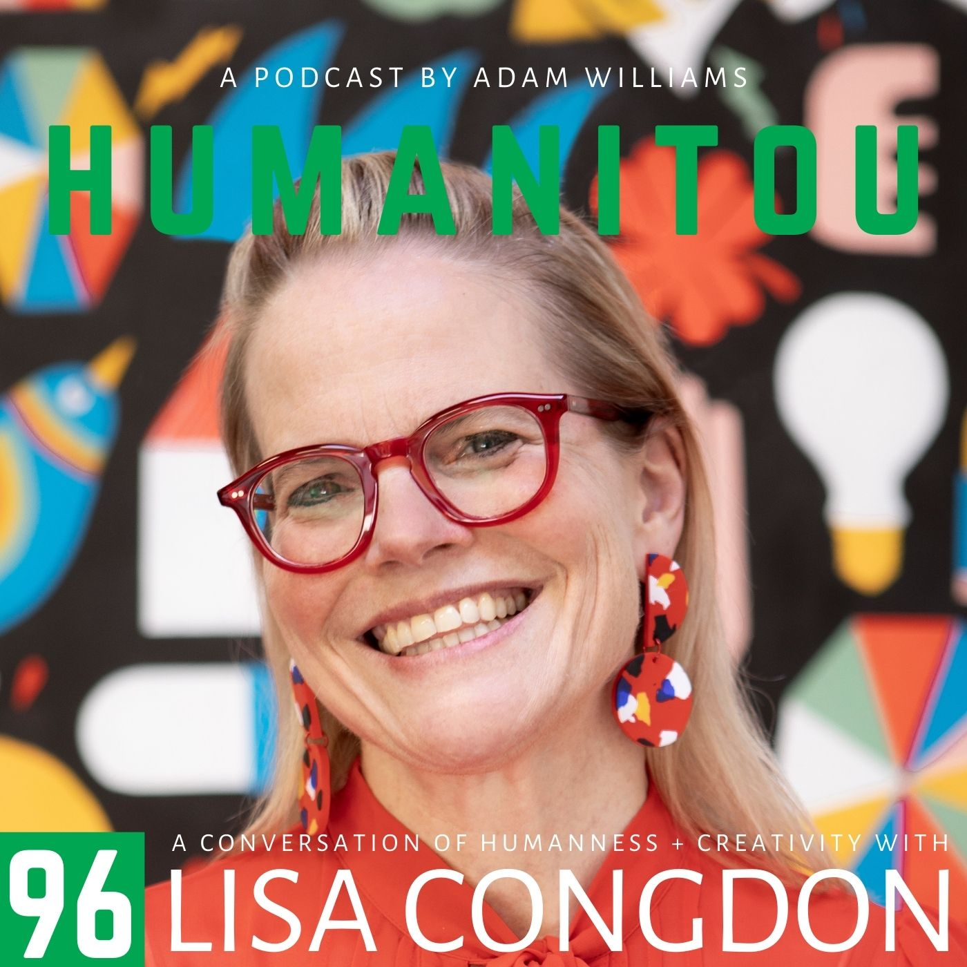 96: Lisa Congdon, illustrator & author, on failure, impostor syndrome, LGBTQ rights, meditation, breast cancer and being a change-agent