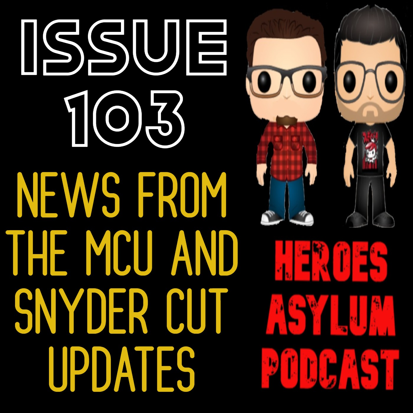 issue 103 - MCU news and Snyder Cut update